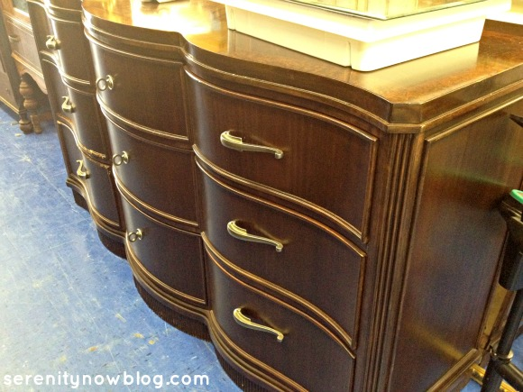 Thrift Store Shopping Inspiration (Buffet), via Serenity Now