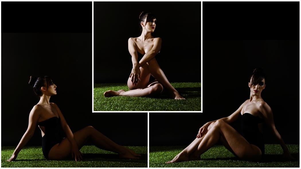 editorial fotografica, sombras, cesped, bañador, verano, modelo, moda, fashionshotting, photoshoot, sesion fotos