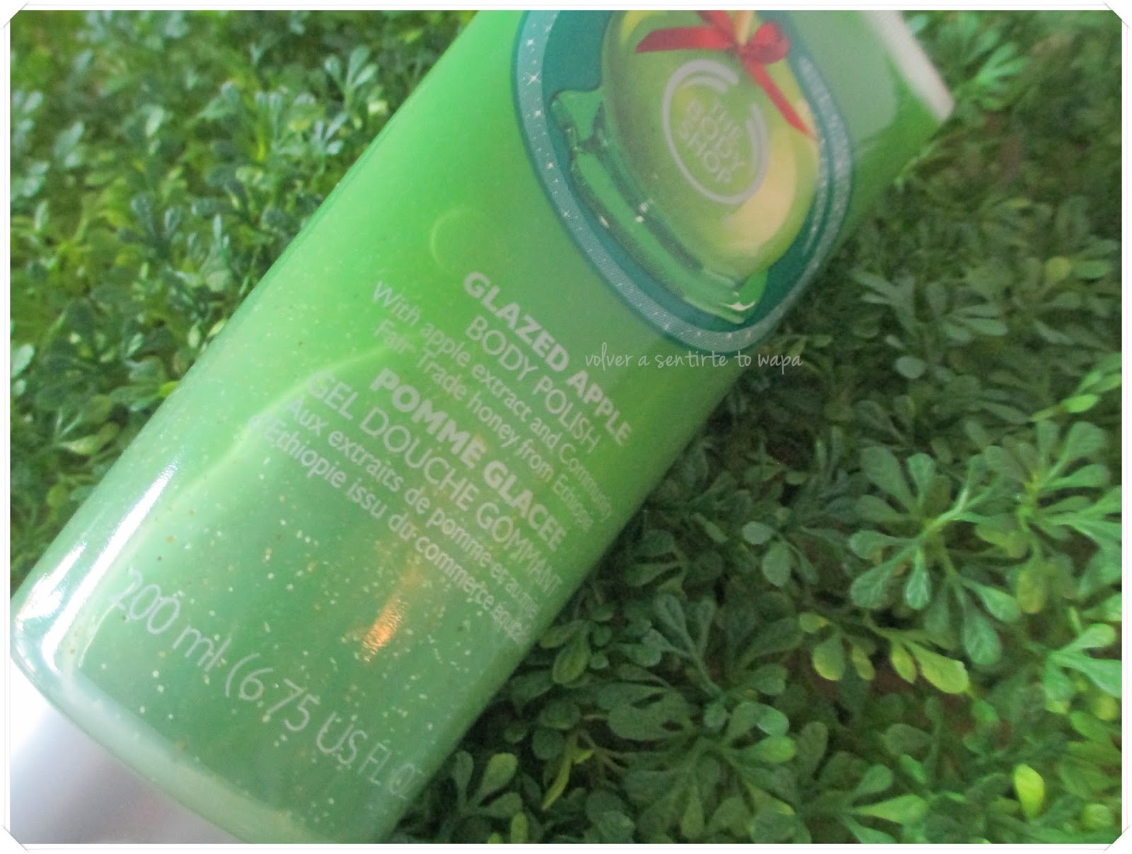 Manzana Glaseada de The Body Shop - Exfoliante Corporal {Navidad}