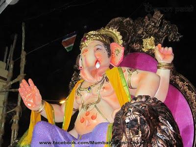 Ganesh Chaturthi Pictures Mumbai 2013