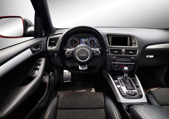 2011 Audi Q5 Interior/dashboard