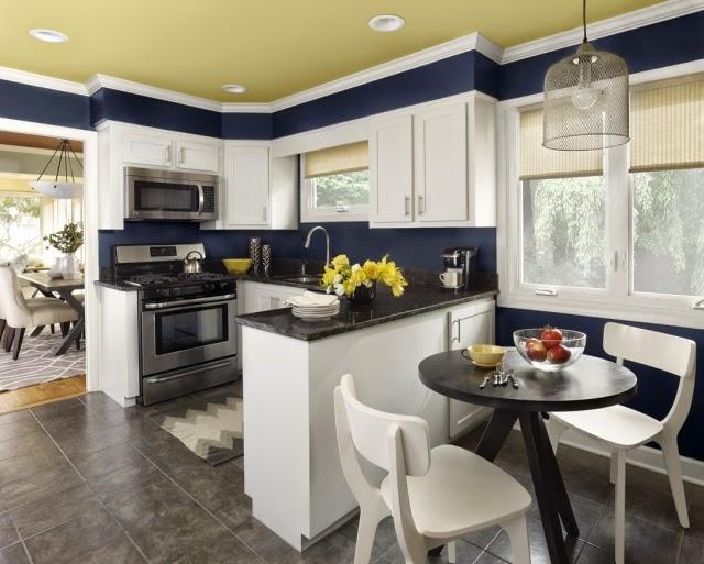 10 cocinas con comedor de diario colores en casa for Cocina con comedor diario