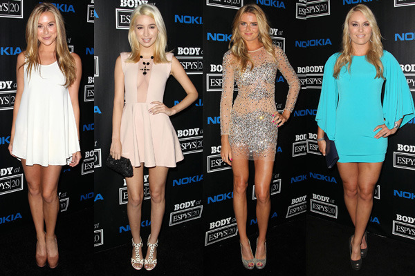 Celebrity Hot Legs At Espn Celebrated &Quot;body Issue""