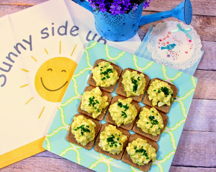 Egg Salad Canapes