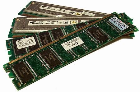 Komputer lambat karena kekurangan Memory