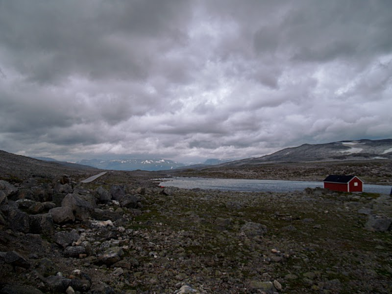 Sognafjord: strada Aurlund-Laerdal