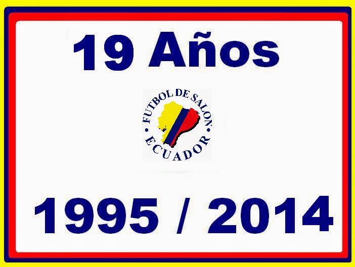 19 AÑOS DE VIDA DEPORTIVA INSTITUCIONAL