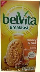 Belvita breakfast biscuit honey & nut