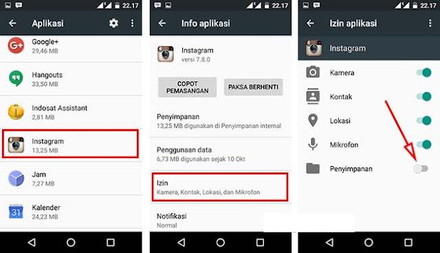 Mengatasi Aplikasi tidak terbaca Kartu SD Setelah Upgrade ke Marshmallow