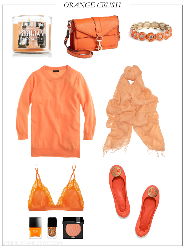Orange Crush || Sprinkles and Style