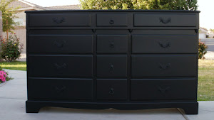 12 Drawer Shabby Dresser  *SOLD*