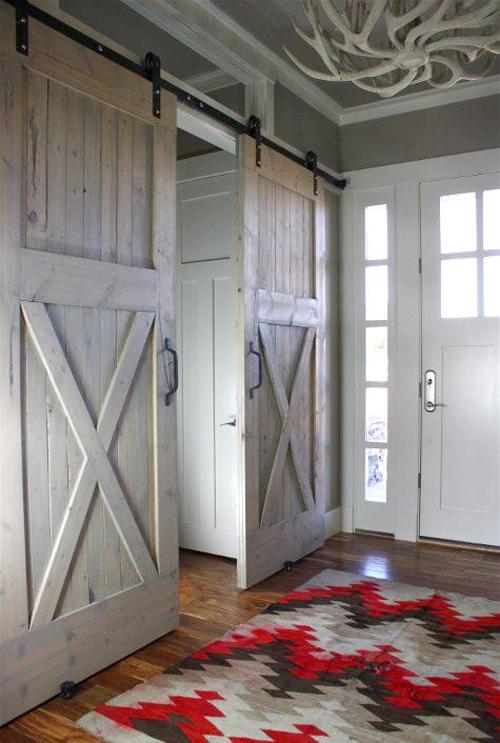 Blog dla ludzi z wn trzem stare drewniane drzwi przesuwne