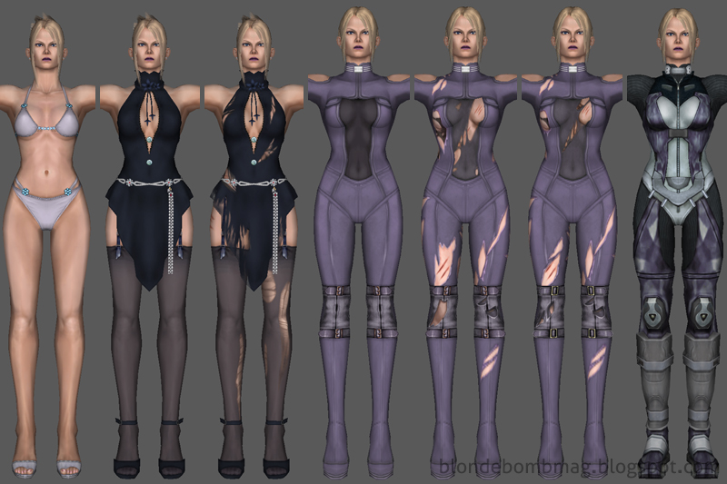 Nina Tekken PlayStation 2 Model Extraction