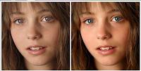 Remoção de olhos vermelhos e maquilhagem com o PicTreat