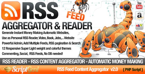 ������ RSS Aggregator v2.0 � Niche RSS Site Builder