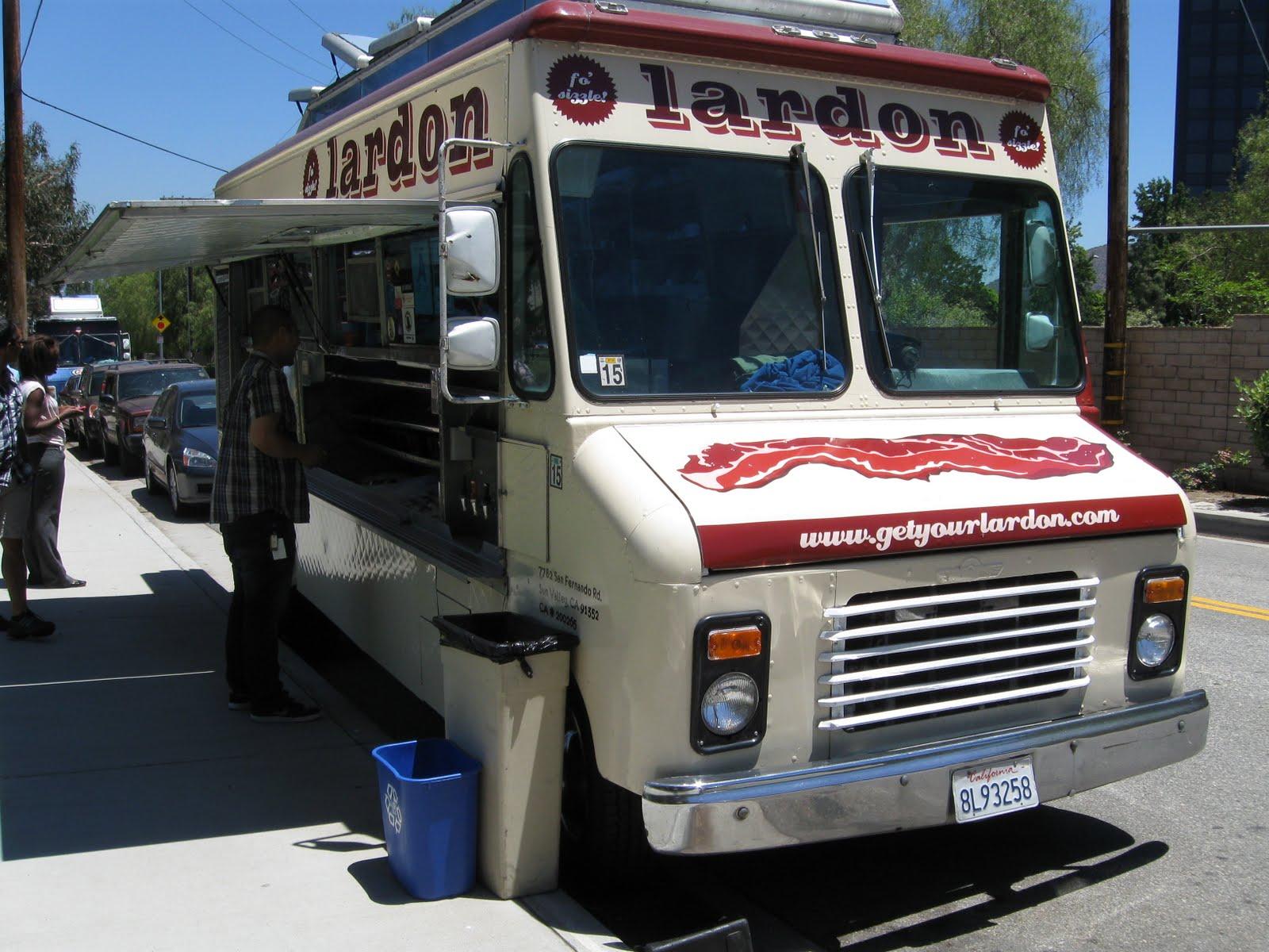 Lardon Food Truck Menu