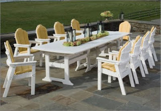 Buying Recycled Plastic Patio Furniture Can Help Many To Keep Plastics From  Ending Up In Landfills. Every Time Someone Decides To Recycle A Plastic  Milk ...