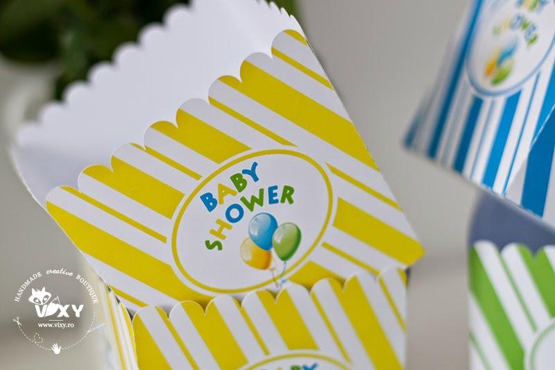baby shower, cutii petrecere personalizate, cutii popcorn personalizate, cutii tematice cu baloane, cutii candy bar, etichete prajituri tema baloabe,petrecere tematica baloane, pertrecere personalizata, stegulete prajituri personalizate, etichete prajituri tema baloane, petreceri deosebite, petreceri speciale, petreceri copii, petreceri tematice, papetarie personalizata
