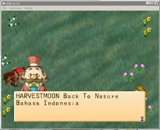screenshot Harvest Moon Back to Nature Bahasa Indonesia untuk PC