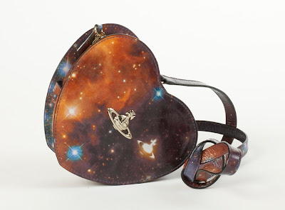 Vivienne Westwood Galaxy Heart Shaped Handbag