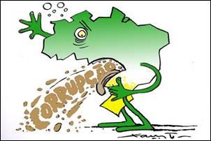 Crônica. A corrupção no Brasil e a educação.