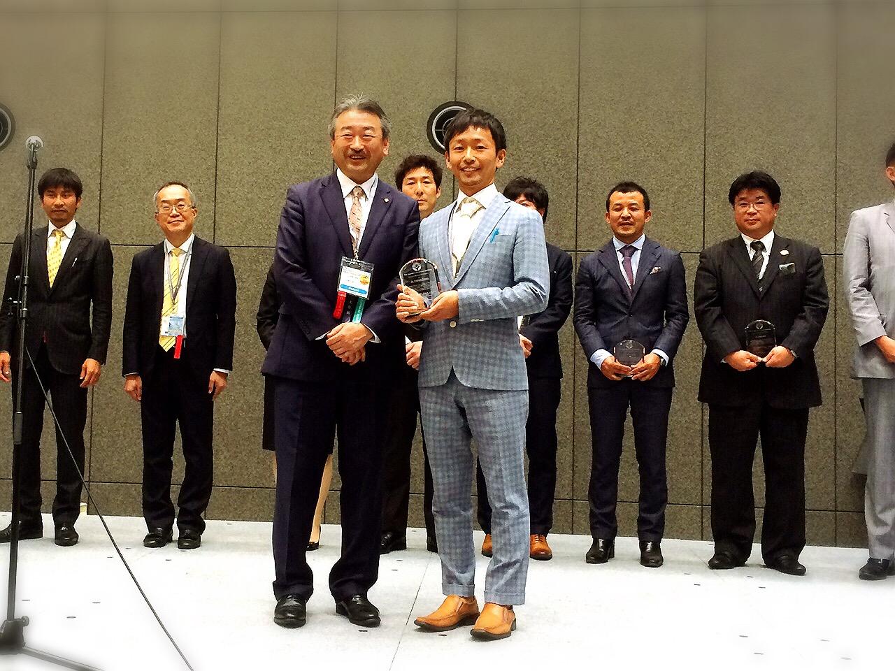 第33回日本顎咬合学会優秀発表賞受賞しました。
