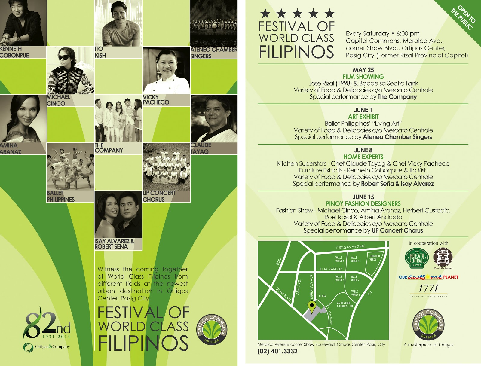 Festival of World-Class Filipinos at the Capitol Commons