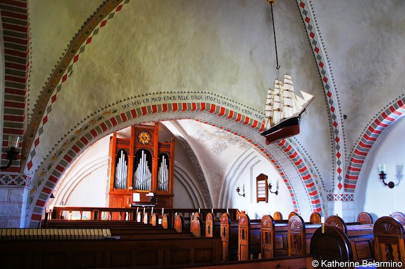 Viby Church Hindsholm Peninsula Denmark