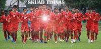 Daftar 18 Pemain TIMNAS (Indonesia) Versus Turkmenistan 23 Juli 2011 | Pra Piala Dunia 2014