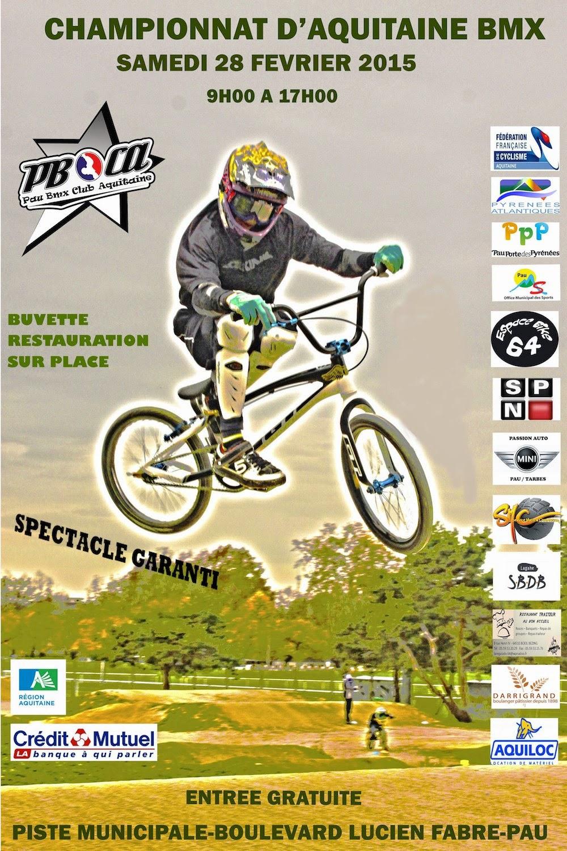 Pau : Championnat d'Aquitaine de BMX 2015