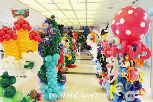 2015 TIBA 台灣國際氣球藝術大會 球柱造型創作賽
