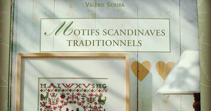 After hours book with scandinavian cross stitch motifs Motifs scandinaves traditionnels