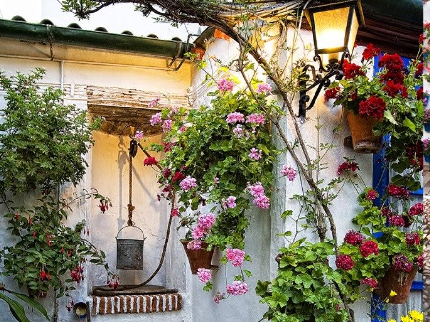 Las colecciones de mi vida flores patios andaluces - Patios andaluces decoracion ...