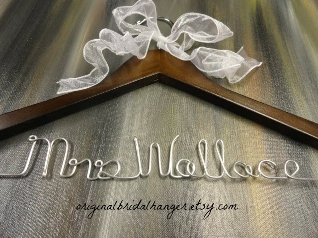 Custom Wedding Dress Hangers 6 New WEDDING DRESS HANGER SALE