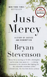 Book cover, Just Mercy by Bryan Stevenson