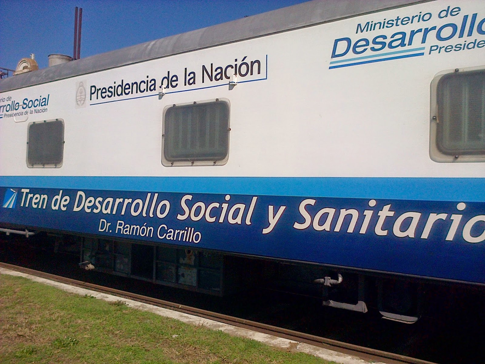 El Tren de Desarrollo Social y Sanitario llegó a Lincoln