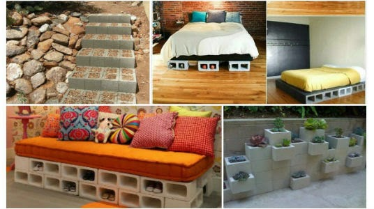 10 Super Ideas Para Decorar tu Casa con Bloques