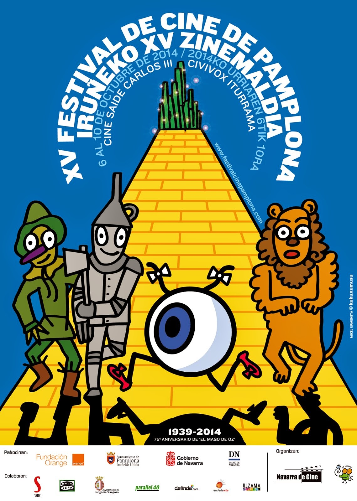 XV Festival de Cine de Pamplona-Iruñeko XV Zinemaldia