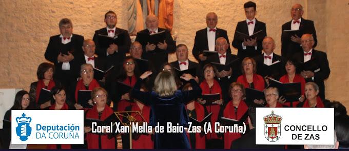 Coral polifónica Xan Mella de Baio-Zas (A Coruña)