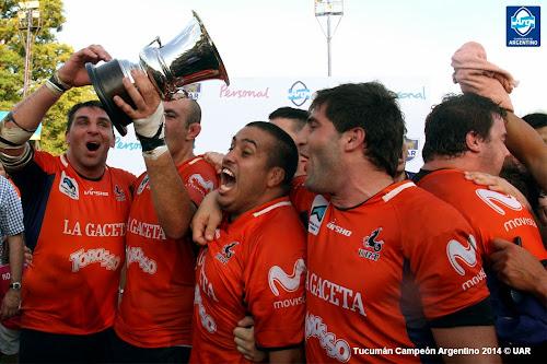 Tucumán Campeón Argentino de Rugby 2014