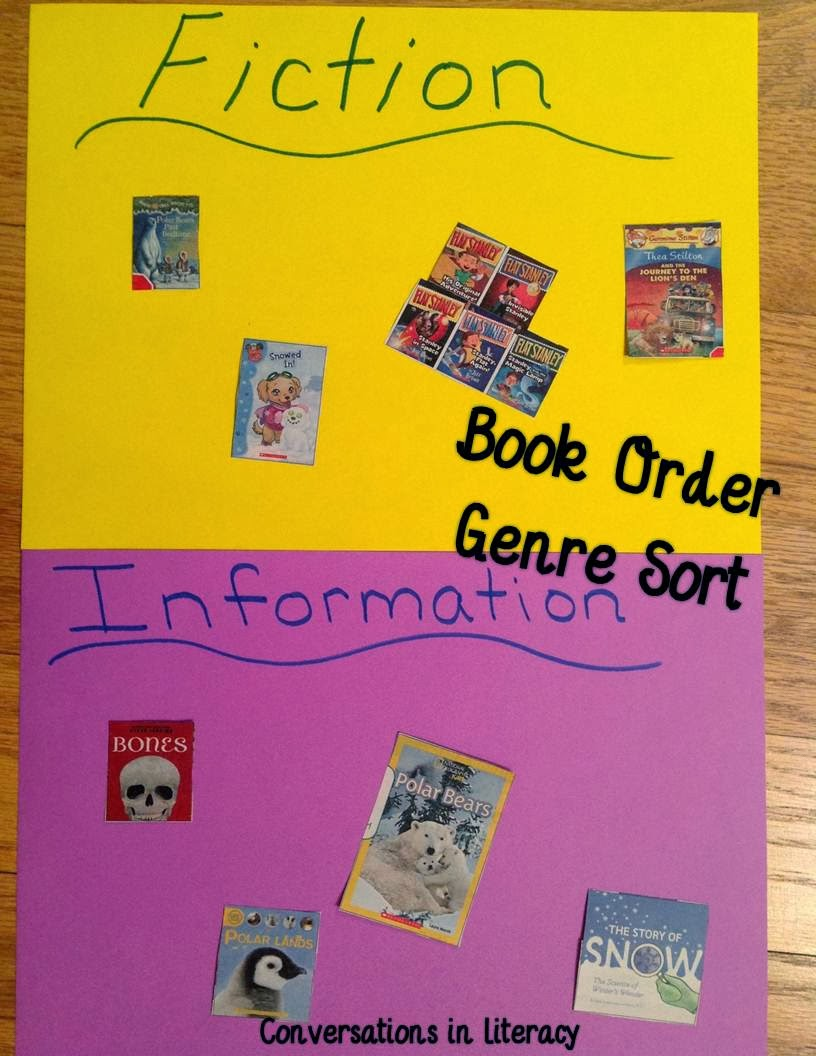 Authentic Book Order Activities