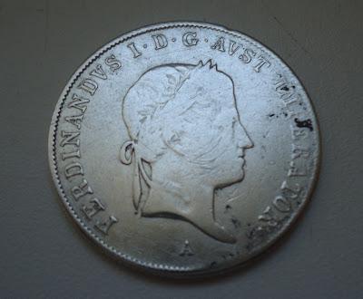20 Kreuzer 1836 'A' Silver Coin Very Rare SCARCE
