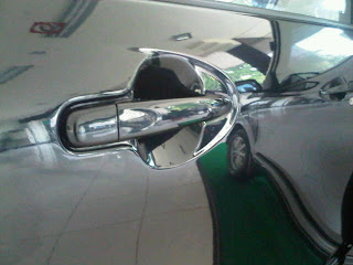 door handle grip type