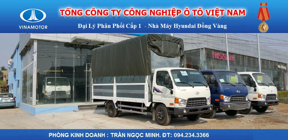 Đại lý nhà máy Hyundai Đồng Vàng