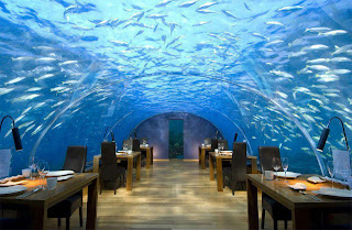 Underwater Restaurant Fiji