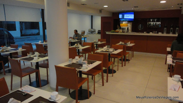 Restaurante do Hotel Intercity Premium - Montevidéu, Uruguai