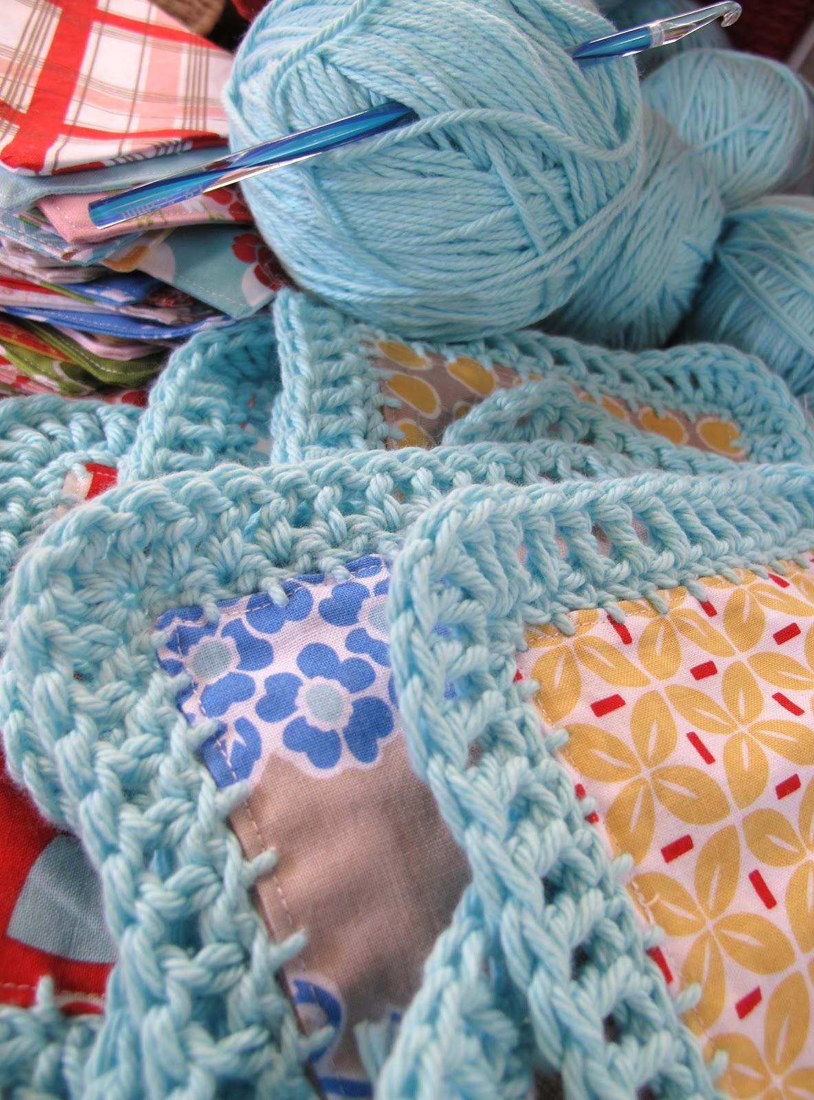 Beekeeper s Quilt Free Pattern Crochet : Bee In My Bonnet: Fusion Blanket Crochet Along...