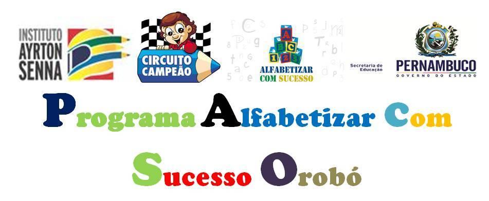 Alfabetizar com Sucesso Orobó