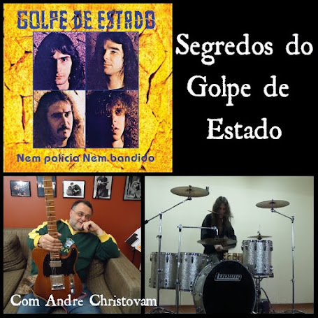 """A gravação do álbum """"Nem Polícia, Nem Bandido"""""""