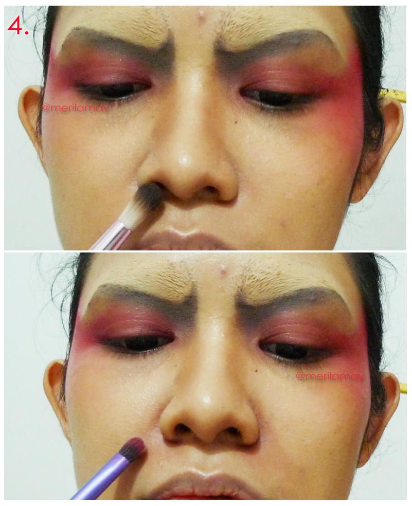 "merilla may's blog: Seven Deadly Sins: ""WRATH"" Makeup Tutorial"